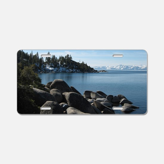 Lake Tahoe, Incline Village Aluminum License Plate