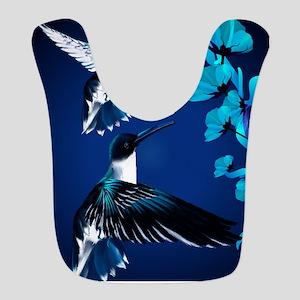 two blue Hummingbirds PosterP Bib