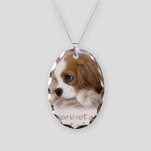 Ridley_watercolor Necklace Oval Charm