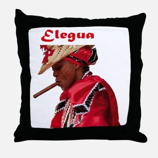 Elegua Throw Pillow