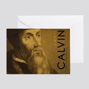 Mousepad_Head_Calvin Greeting Card