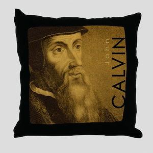 Mousepad_Head_Calvin Throw Pillow