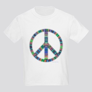 Ribbed Peace Kids T-Shirt