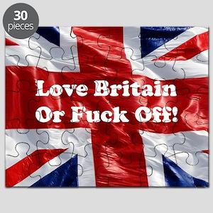Love Britain Puzzle