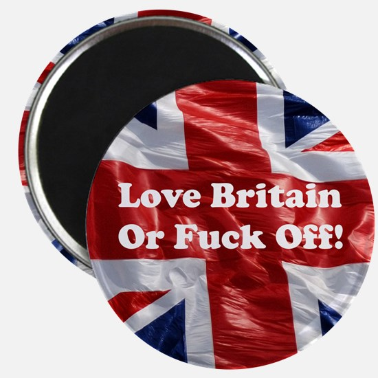 Love Britain Magnet