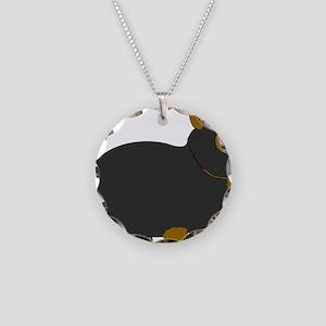 netdwarf Necklace Circle Charm