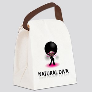 Natural Chick Epidemic ReDesigned Canvas Lunch Bag