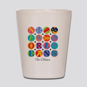 New Orleans Themes Shot Glass