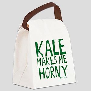 Kale Makes Me Canvas Lunch Bag
