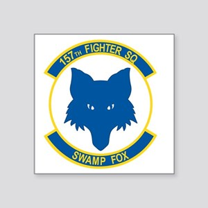 "157_fighter_SWAMP_FOX Square Sticker 3"" x 3"""