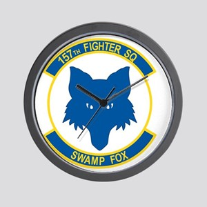 157_fighter_SWAMP_FOX Wall Clock