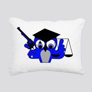 I FOUGHT THE LAW Rectangular Canvas Pillow