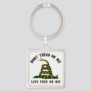 Dont Tread -wh Square Keychain