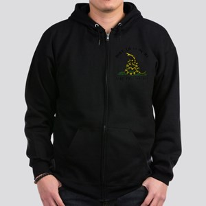 Dont Tread -wh Zip Hoodie (dark)