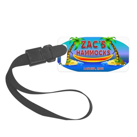 5-ZACSLOGO2 Small Luggage Tag