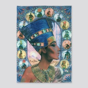 7-Nefertiti 5'x7'Area Rug