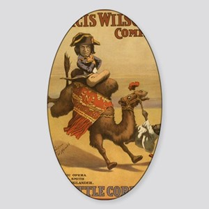 2-1898 The Little Corporal Egyptian Sticker (Oval)