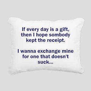 gift Rectangular Canvas Pillow