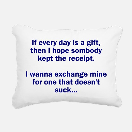 gift Rectangular Canvas Pillow