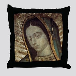 Our Lady of Guadalupe - Mousepad Throw Pillow
