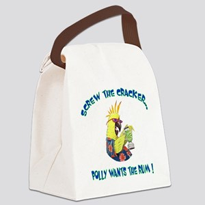 POLLY SHIRT Canvas Lunch Bag