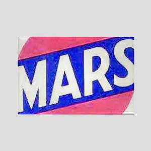 mars Rectangle Magnet
