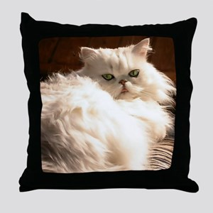 persianwht22 Throw Pillow