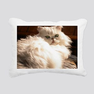 persianwht22 Rectangular Canvas Pillow