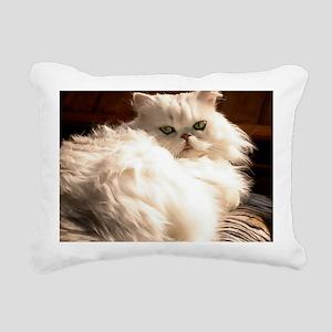 persianwht22 Rectangular Canvas Pillow