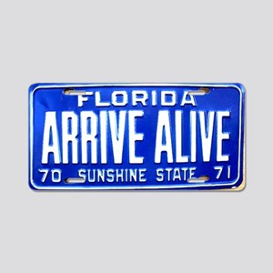 arrivealive Aluminum License Plate