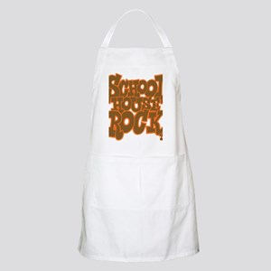 2-schoolhouserock_brown_dark_REVERSE Apron