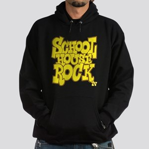 2-schoolhouserock_yellow_REVERSE Hoodie (dark)