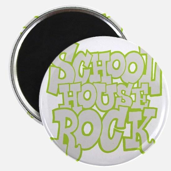 2-schoolhouserock_gray_REVERSE Magnet