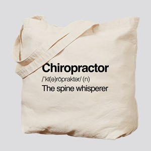 Chiropractor The Spine Whisperer Tote Bag