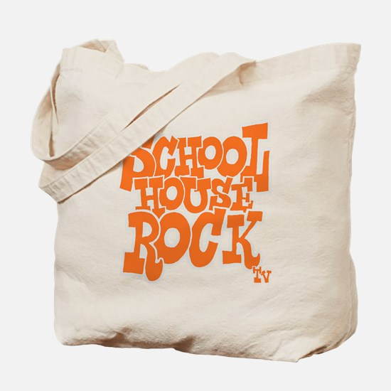 2-schoolhouserock_orange_REVERSE Tote Bag