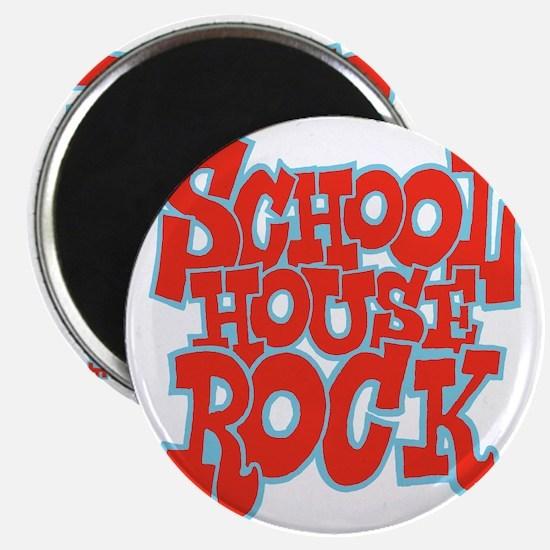 2-schoolhouserock_red_REVERSE Magnet