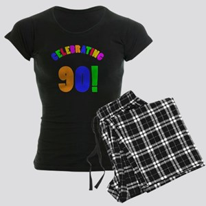 Rainbow 90 Women's Dark Pajamas
