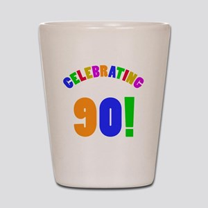 Rainbow 90 Shot Glass