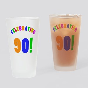 Rainbow 90 Drinking Glass