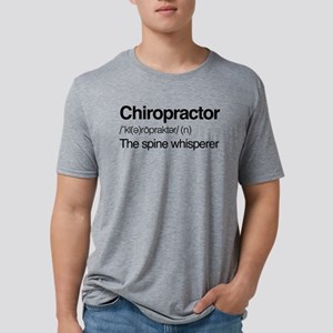 Chiropractor The Spine Whis Mens Tri-blend T-Shirt