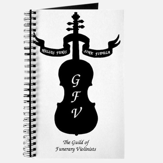 Guild logo on white Journal
