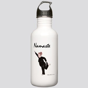 Namaste White Copyrigh Stainless Water Bottle 1.0L
