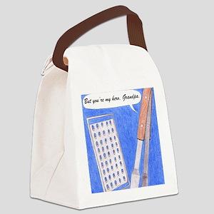 Hero Grandpa Copyright Canvas Lunch Bag