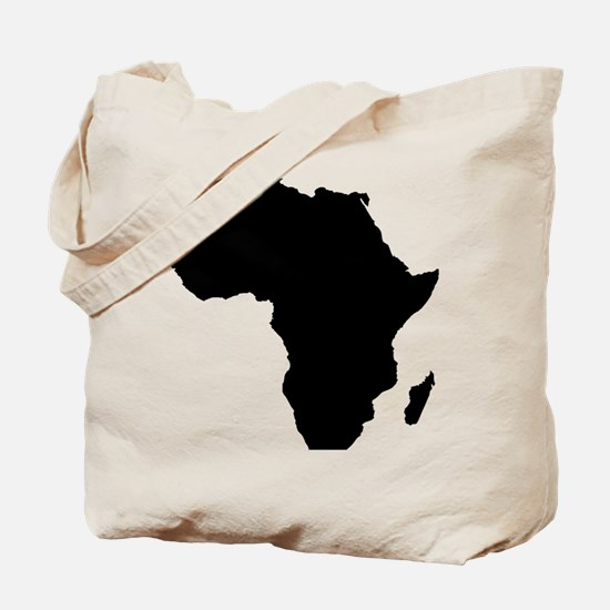 African Continent_Large Tote Bag