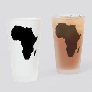 African Continent_Large Drinking Glass