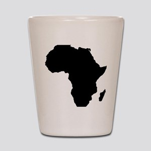 African Continent_Large Shot Glass