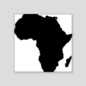 """African Continent_Large Square Sticker 3"""" x 3"""""""