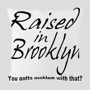 2-brooklyn Woven Throw Pillow