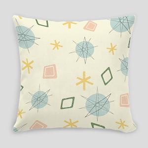 Atomic Age Art Everyday Pillow