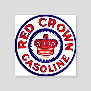"redcrown1 Square Sticker 3"" x 3"""